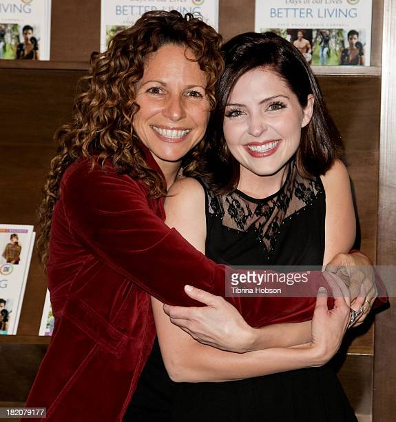 Meredith Scott Lynn and Jen Lilley attend the 'Days Of Our Lives' cast member book signing for 'Days Of Our Lives Better Living Cast Secrets For A...