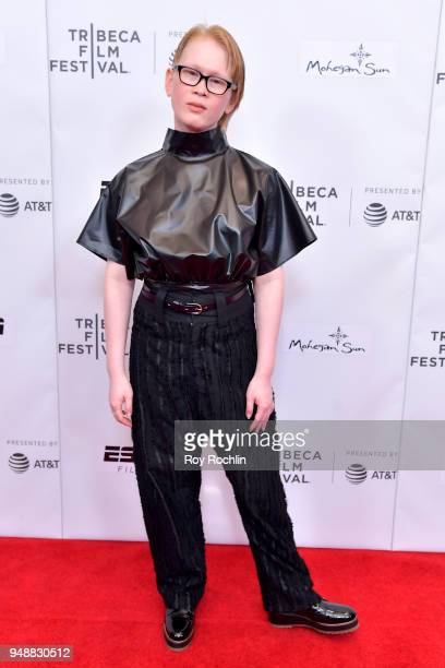 Meredith Talusan attends the premiere of 'Call Her Ganda' during the 2018 Tribeca Film Festival at Cinepolis Chelsea on April 19 2018 in New York City