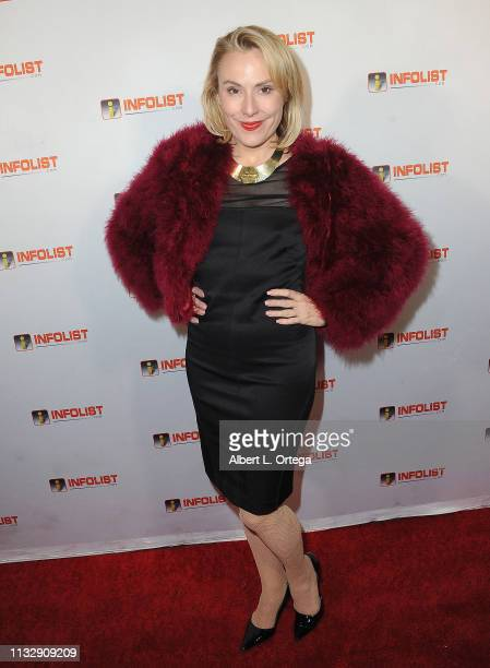 Meredith Thomas arrives for PreOscar Soiree Hosted By INFOListcom and Birthday Celebration for Founder Jeff Gund held at SkyBar at the Mondrian Los...