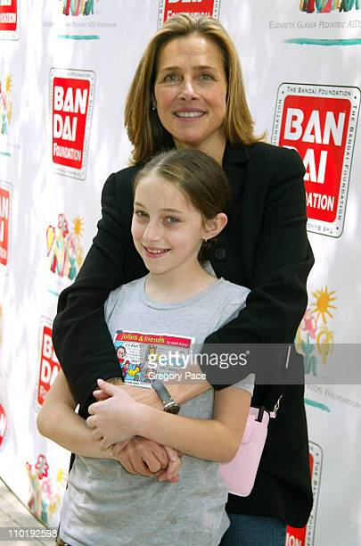 Meredith Vieira and daughter Lily during 11th Annual Kids for Kids Celebrity Carnival to Benefit the Elizabeth Glaser Pediatric AIDS Foundation...