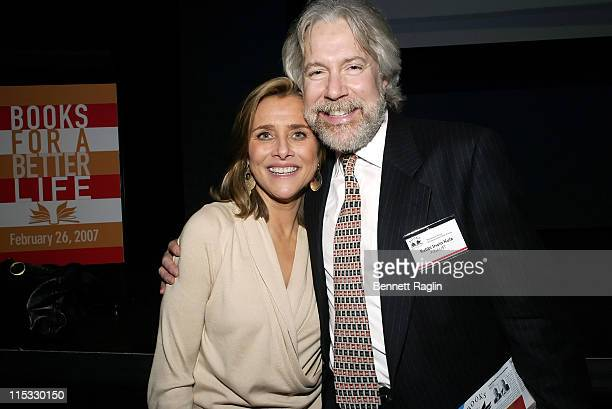Meredith Vieira and Rabbi Irwin Kula during National Multiple Sclerosis Society Presents Books for a Better Life Awards with Today Show CoAnchor...