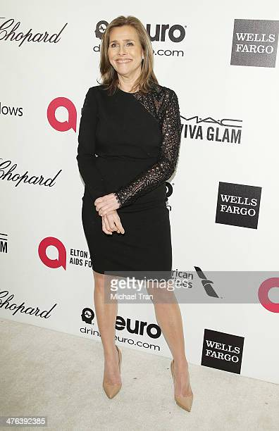 Meredith Vieira arrives at the 22nd Annual Elton John AIDS Foundation's Oscar viewing party held on March 2 2014 in West Hollywood California