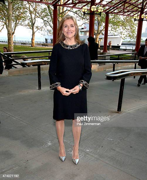 Meredith Vieira attend the 2015 Statue Of LibertyEllis Island Foundation's Gala in the Great Hall at Ellis Island National Museum of Immigration on...