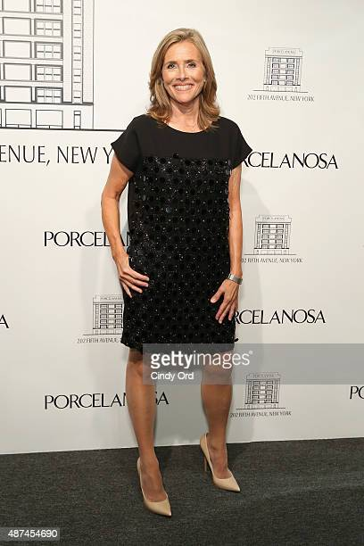 Meredith Vieira attends Madison Square Park Conservancy's Fall Fundraising Gala in partnership with the grand opening of Porcelanosa's flagship...