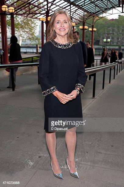 Meredith Vieira attends the 2015 Statue of LibertyEllis Island Foundation's Gala In The Great Hall at Ellis Island National Museum of Immigration on...