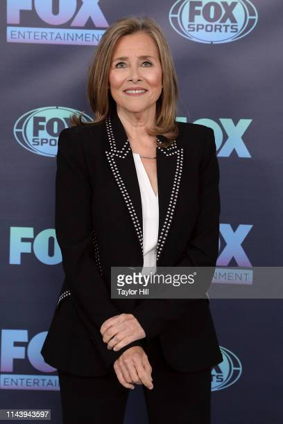 Meredith Vieira attends the 2019 Fox Upfront at Wollman Rink Central Park on May 13 2019 in New York City