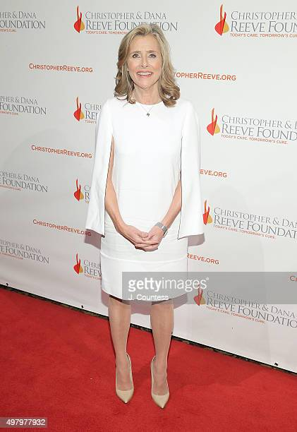 Meredith Vieira attends The Christopher And Dana Reeve Foundation's 'A Magical Evening' Gala at Cipriani Wall Street on November 19 2015 in New York...