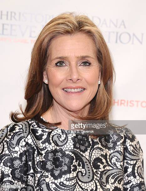 Meredith Vieira attends The Christopher Dana Reeve Foundation 'A Magical Evening' on November 20 2014 in New York City