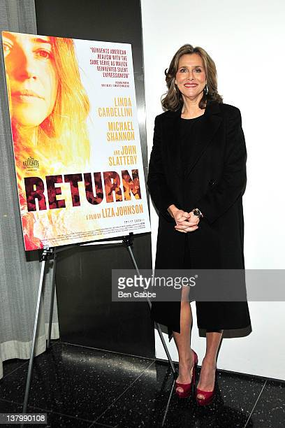 Meredith Vieira attends the premiere of Return at The Museum of Modern Art on January 30 2012 in New York City