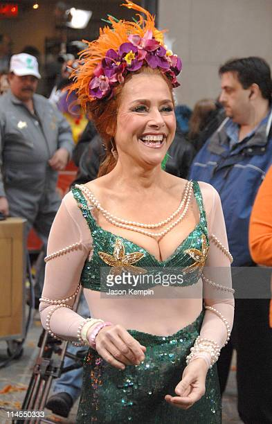 Meredith Vieira during Halloween on the Set of The Today Show October 31 2006 at Rockefeller Center in New York City New York United States