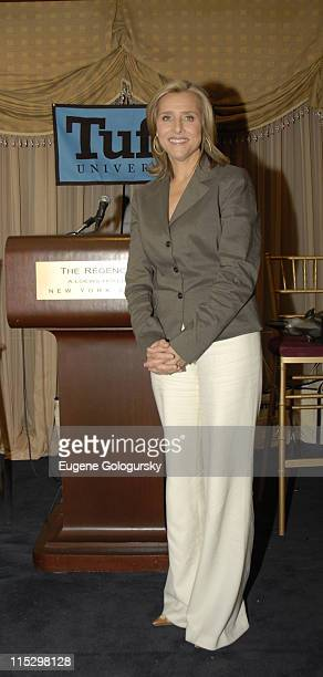Meredith Vieira during Meredith Vieira to host 2nd Annual PT Barnum Awards Ceremony Honoring Four Tufts University Alumni at Feinsteins at The...