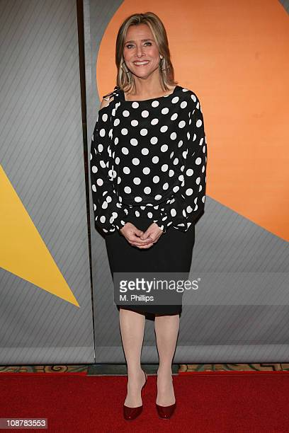 Meredith Vieira during NBC's Winter 2007 TCA Press Tour All-Star Party - Red Carpet and Inside at Ritz-Carlton in Pasadena, California, United States.