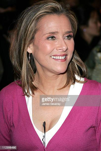 Meredith Vieira during Opening Night of Whoopi Goldberg's OneWoman Show 'WHOOPI' at Lyceum Theatre in New York City New York United States