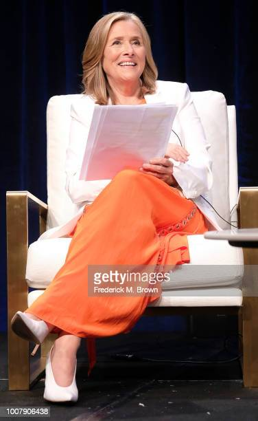Meredith Vieira of the television show Great American Read speaks during the PBS segment of the Summer 2018 Television Critics Association Press Tour...