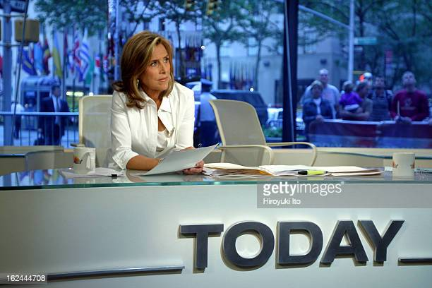 Meredith Viera in NBC's The Today Show on Wednesday morning September 5 2007
