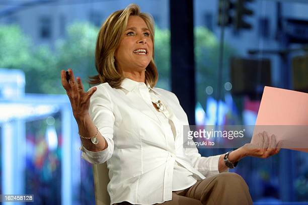 Meredith Viera in NBC's The Today Show on Wednesday morning, September 5, 2007.