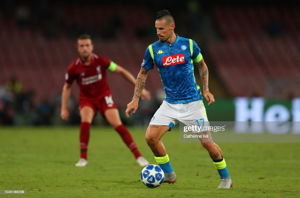 SSC Napoli v Liverpool - UEFA Champions League Group C : News Photo