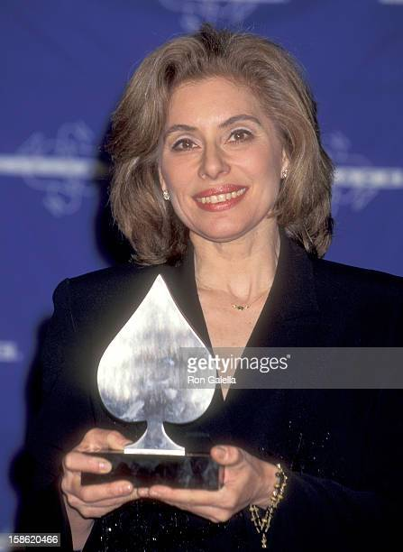 Merel Poloway attends the 17th Annual National CableACE Awards on December 2 1995 at Wiltern Theatre in Los Angeles California