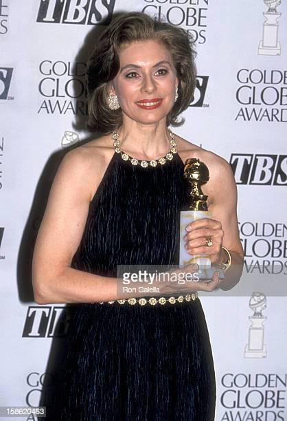 Merel Poloway attends the 52nd Annual Golden Globe Awards on January 21 1995 at Beverly Hilton Hote in Beverly Hills California