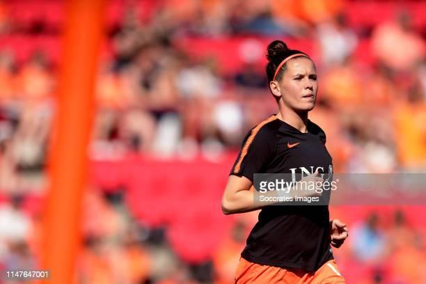 Merel van Dongen of Holland Women during the International Friendly Women match between Holland v Australia at the Philips Stadium on June 1 2019 in...