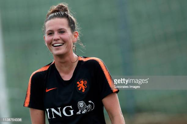Merel van Dongen of Holland Women during the Training Holland Women at the Cascade Resort on March 5 2019 in Lagos Portugal