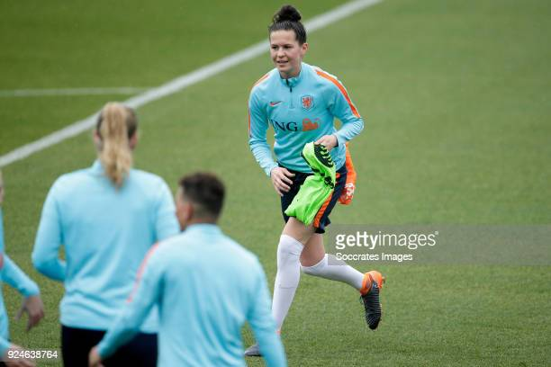 Merel van Dongen of Holland Women during the Training Holland Women at the The Campus on February 26 2018 in Quinta do Lago Portugal