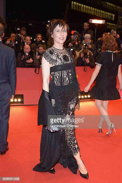 Meret Becker attends the 'Hail Caesar' premiere during the 66th Berlinale International Film Festival Berlin at Berlinale Palace on February 11 2016...