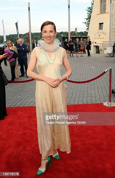 Meret Becker attends the Opening Gala of the 18th Jewish Filmfestival Berlin Potsdam at Hans Otto Theater on June 4 2012 in Potsdam Germany