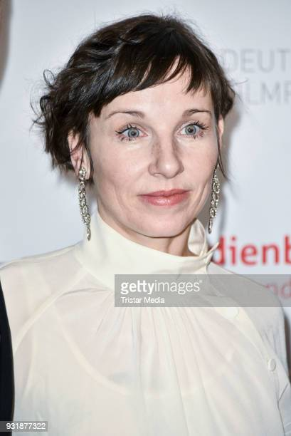 Meret Becker during the nominees announcement for the Lola German film award at on March 14 2018 in Berlin Germany The German film award will take...