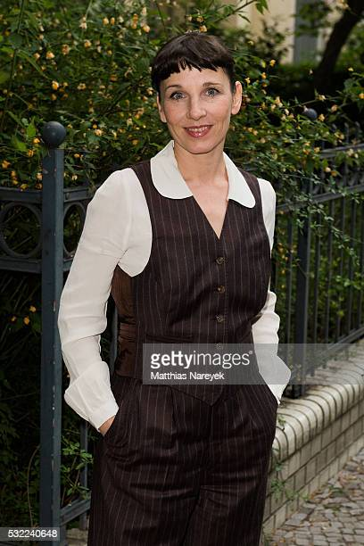 Meret Becker during the 'Tatort Wir Ihr Sie' Premiere at Filmkunst 66 on May 18 2016 in Berlin Germany