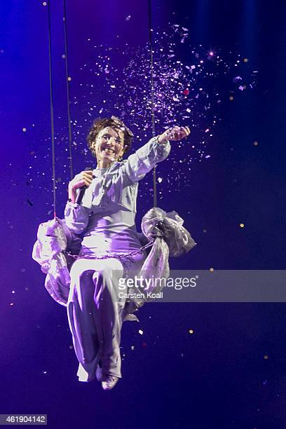 Meret Becker opens the show of the BZ Kulturpreis at Komische Oper on January 21 2015 in Berlin Germany