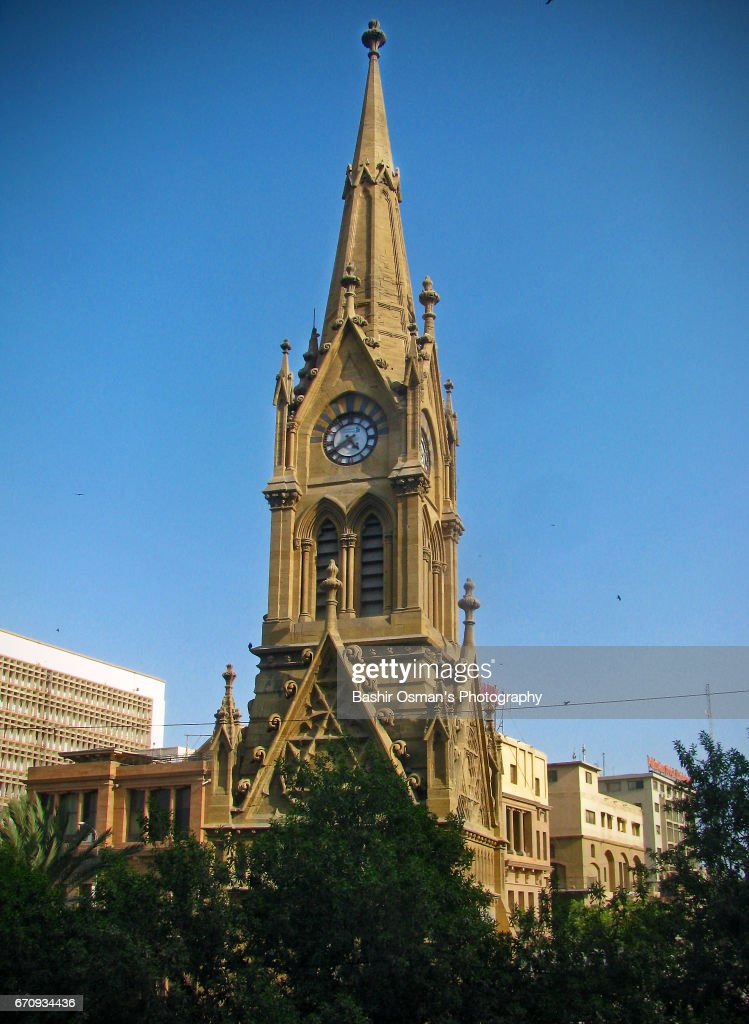 Merewether Tower The Old City Areas Of Karachi Stock Photo - Getty