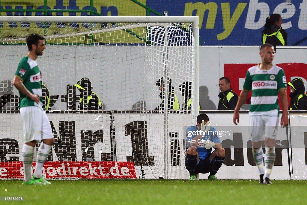 SpVgg Greuther Fuerth v Hannover 96 - Bundesliga