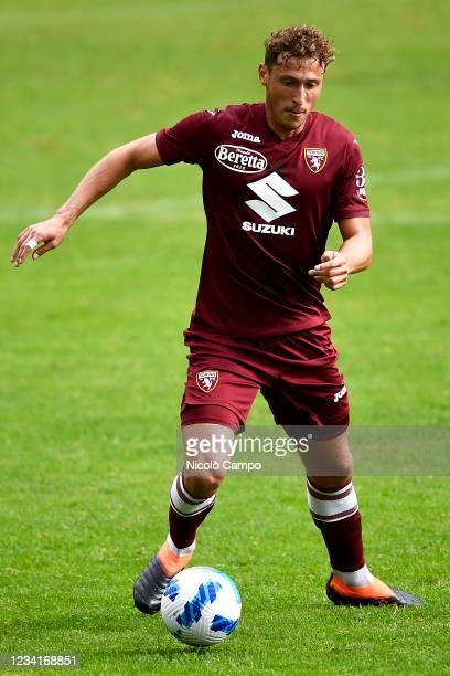 Mergim Vojvoda of Torino FC in action during the pre-season friendly football match between Torino FC and SSV Brixen. Torino FC won 5-1 over SSV...