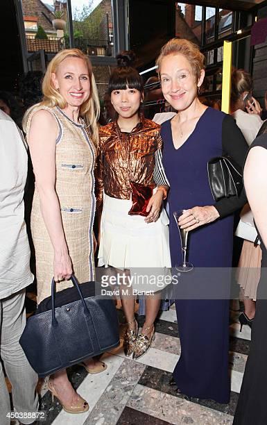 Meribeth Parker Susie Bubble and Justine Picardie attend the opening of Roksanda on Mount Street on June 10 2014 in London England