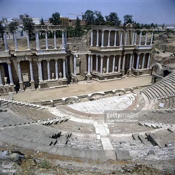Merida The roman theatre built by Agrippa