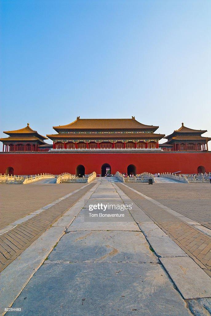 Meridian Gate, Wu Men : Stock Photo