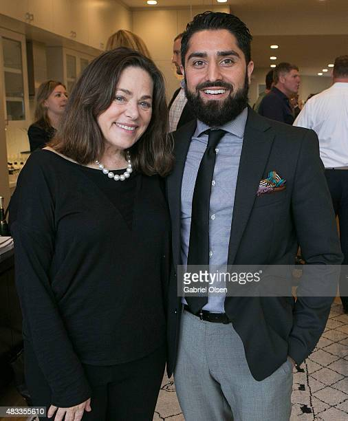 Meridith Baer and Roh Habibi attend the Meridith Baer Home Teedhaze Presents The Living Art Open House At 2764 Greenwich St San Francisco CA for The...