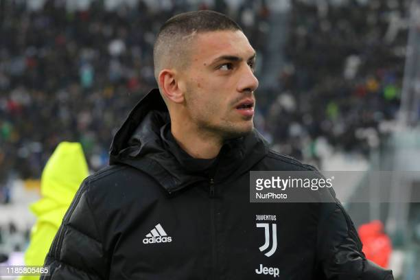 Merih Demiral of Juventus FC during the Serie A football match between Juventus FC and US Sassuolo Calcio at Allianz Stadium on December 01 2019 in...