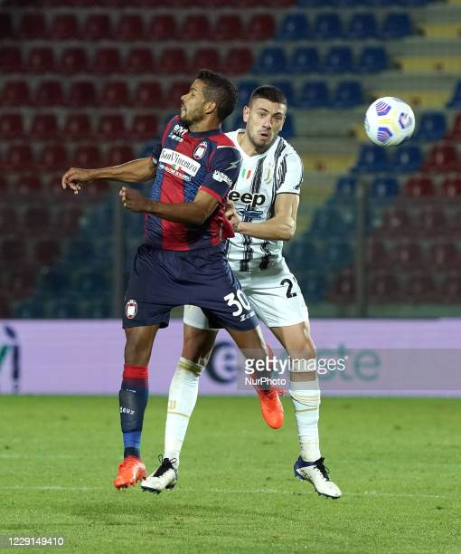Merih Demiral of Juventus Fc during the Serie A match between Fc Crotone and Juventus Fc on October 17 2020 stadium quotEzio Scidaquot in Crotone...