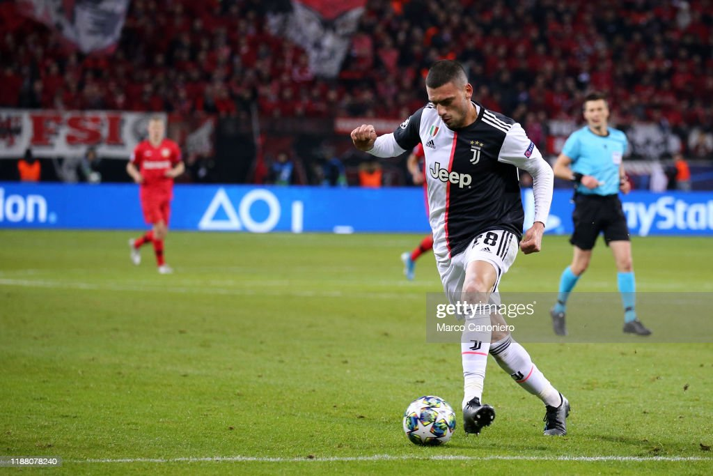 Merih Demiral of Juventus FC in action during the Uefa... : News Photo