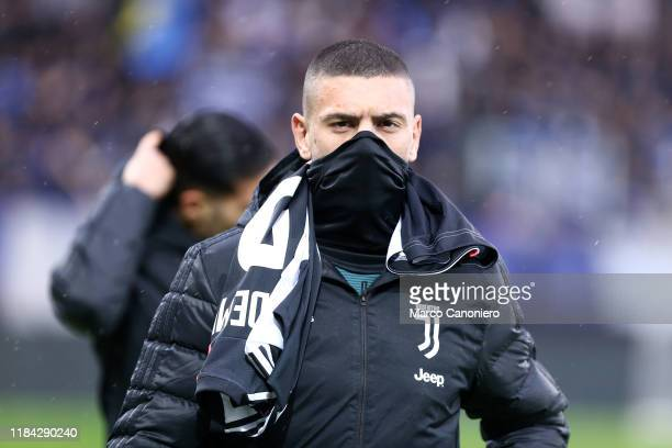 Merih Demiral of Juventus FC looks on before the Serie A match between Atalanta Bergamasca Calcio and Juventus Fc Juventus Fc wins 31 over Atalanta...