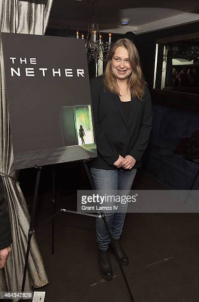 Meritt Wever attends 'The Nether' opening night after party on February 24 2015 in New York City