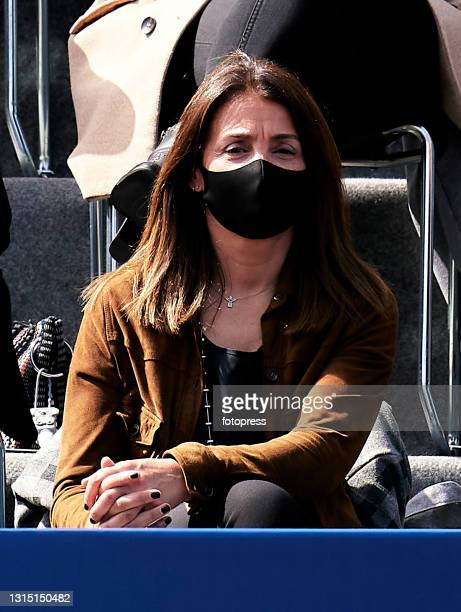 Meritxell Budo attends to the ATP Barcelona Open Banc Sabadell 2021 at Real Club De Tenis Barcelona on April 25, 2021 in Barcelona, Spain.