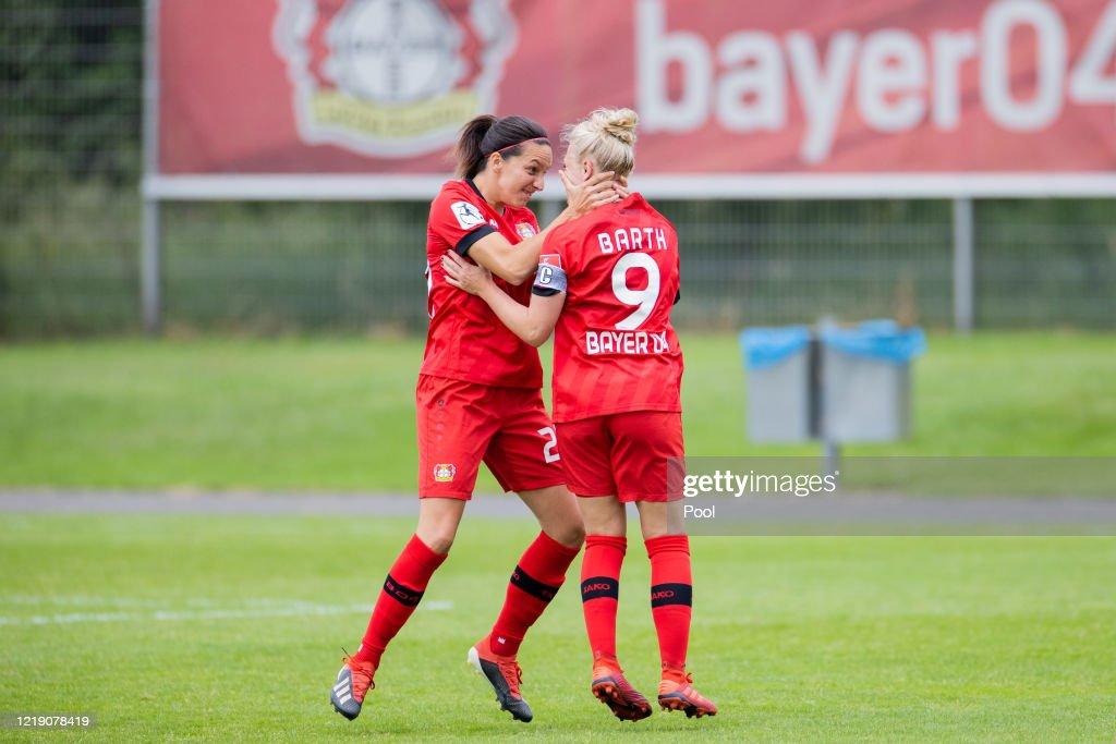 Bayer 04 Leverkusen Women's v SGS Essen Women's - Women's DFB Cup Semifinal : News Photo
