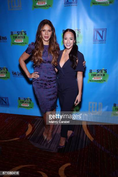 Merle Dandridge and Courtney Reed attend the 2017 Rosie's Theater Kids Fall Gala at The New York Marriott Marquis on November 6 2017 in New York City