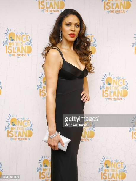 Merle Dandridge attends 'Once On This Island' Broadway opening night after party at Copacabana on December 3 2017 in New York City