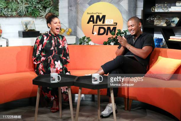 Merle Dandridge speaks with Zach Stafford when she visits BuzzFeed's AM To DM on September 04 2019 in New York City