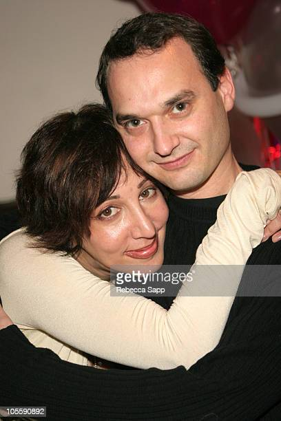 Merle Ginsberg and Jeff Vespa during Merle Ginsberg's Birthday/Going Away Party at Destination Sama at Destination Sama in West Hollywood California...