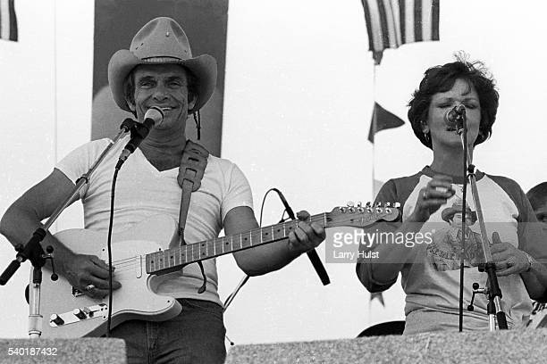 Merle Haggard and the Stranger's are performing at Hughes Stadium in Sacramento CA on August 2